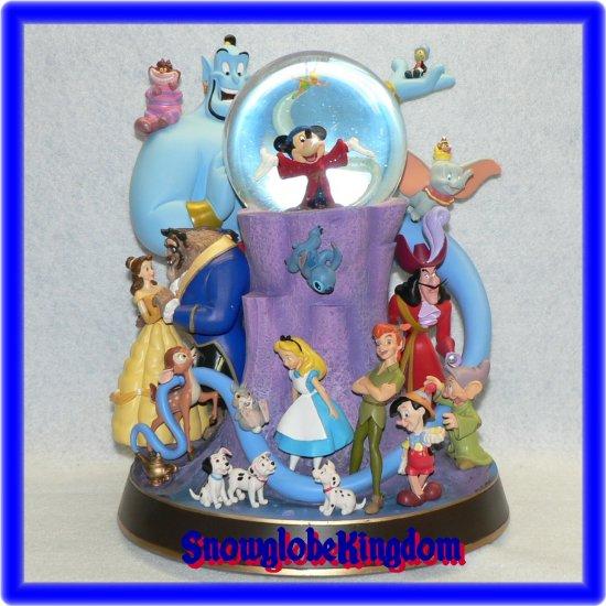 NEW Wonderful World of Disney Snowglobe