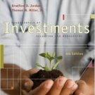 Fundamentals of Investments 4th Ed. by Bradford Jordan 0073314978