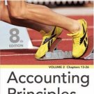 Accounting Principles Vol 2, Chap 13 - 26, 8th Ed by Kimmel 047008197X