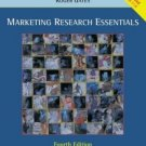 Marketing Research Essentials 4th by Carl McDaniel Jr. 0471448451
