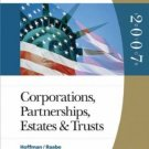West Federal Taxation 2007: Corporations, Partnerships, Estates, and Trusts by Hoffman 0324313616