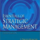 Essentials of Strategic Management 3rd Ed. by J. David Hunger 013046595X