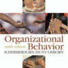 Organizational Behavior 9th Ed. by James G. Hunt 0471681709