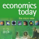 Economics Today With Economics in Action 2001-2002 Version 13th by Miller 0321278860