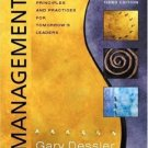Management: Principles and Practices for Tomorrow's Leaders 3rd by Dessler 0131009923