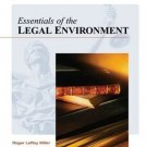 Essentials of the Legal Environment by Miller 0324203659