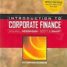 Introduction to Corporate Finance by Megginson 0324323301