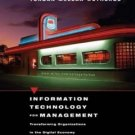 Information Technology for Management 4th by Efraim Turban 0471229679