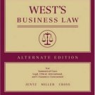 West's Business Law, Alternate 9th by Gaylord A. Jentz 0324269978