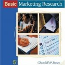 Basic Marketing Research 5th by Churchill 0324190972