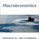 Macroeconomics by Williamson 0201710463