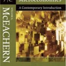Microeconomics: A Contemporary Introduction 7th by William A. McEachern 0324288662