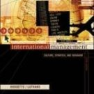 International Management: Culture, Strategy, and Behavior 5th by Richard M. Hodgetts 007256430X