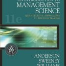 An Introduction to Management Science 11th by Anderson 0324202318