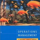 Operations Management by R. Dan Reid 0471320110