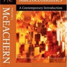Macroeconomics: A Contemporary Introduction 7th by William A. McEachern 0324288743