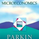 Microeconomics 7th by Michael Parkin 0321409221
