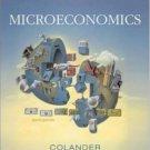 Microeconomics 6th by David C. Colander 0073222968