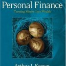Personal Finance: Turning Money into Wealth 4th by Keown 0132213893
