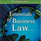 Essentials of Business Law 2nd by Beatty 0324206364