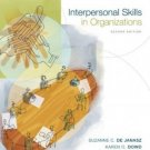 Interpersonal Skills in Organizations 2nd by Suzanne de Janasz 0072881399