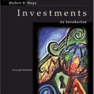 Investments: An Introduction 7th by Mayo 0324180071