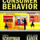 Consumer Behavior 8th by Schiffman 0130673358