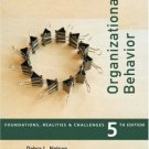Organizational Behavior: Foundations, Reality and Challenges 5th by Debra L. Nelson 0324224702