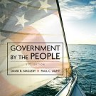 Government by the People - 23rd Edition Magleby, David B. 0136062229