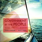 Government by the People National, State, and Local - 23rd Edition Magleby 0136062423