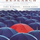 Marketing Research 6th by Carl McDaniel 0471455199