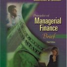 Principles of Managerial Finance 3rd by Gitman 0321266560