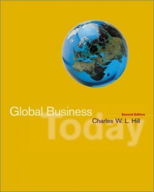 Global Business Today 2nd by Charles W. L. Hill 0072829400