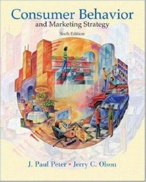 Consumer Behavior 6th by J. Paul Peter 0072410647