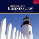 Anderson's Business Law and the Legal Environment 19th by David Twomey 0324271123