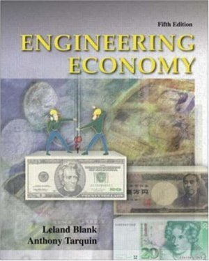 Engineering Economy 5th by Leland T Blank 0072432349
