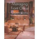 Managing Front Office Operations 7th by Kasavana 0866122656