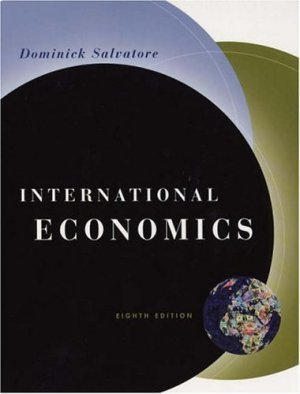 International Economics 8th by Dominick Salvatore 0471230707
