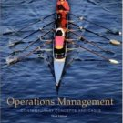 Operations Management: Contemporary Concepts and Cases 3rd by Roger Schroeder 0073230588