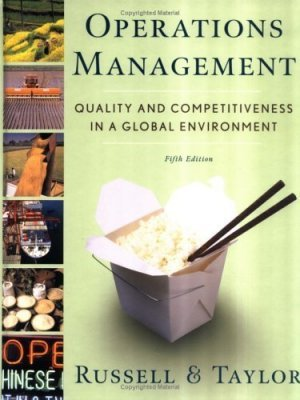 Operations Management 5th by Bernard W. Taylor 0471692093