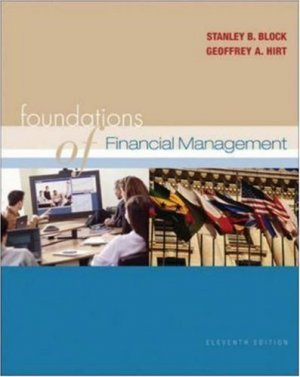 Foundation of Financial Management 11th by Stanley B. Block 0072977922