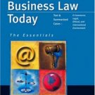 Business Law Today 7th by Gaylord A. Jentz 0324204841