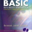 Basic Business Statistics 9th by David M. Levine 0131037919