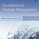 Foundations in Strategic Management 4th by Jeffrey S. Harrison 0324362269
