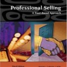 Professional Selling: A Trust-Based Approach 3rd by Thomas N. Ingram 0324321031