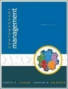 Contemporary Management 4th by Gareth R. Jones 0073049212