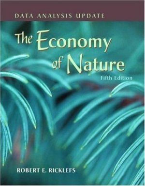 Economy of Nature: Data Analysis Update 5th by Robert E. Ricklefs 0716777622