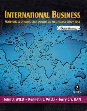 International Business 2nd by John J. Wild 0131024116