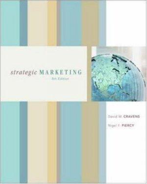 Strategic Marketing 8th by David W. Cravens 0072966343