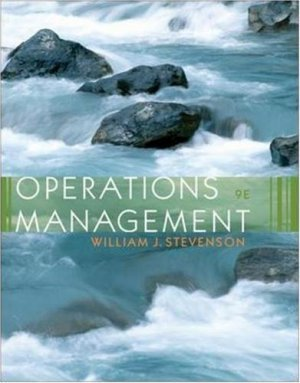 Operations Management 9th by Stevenson 0073290947